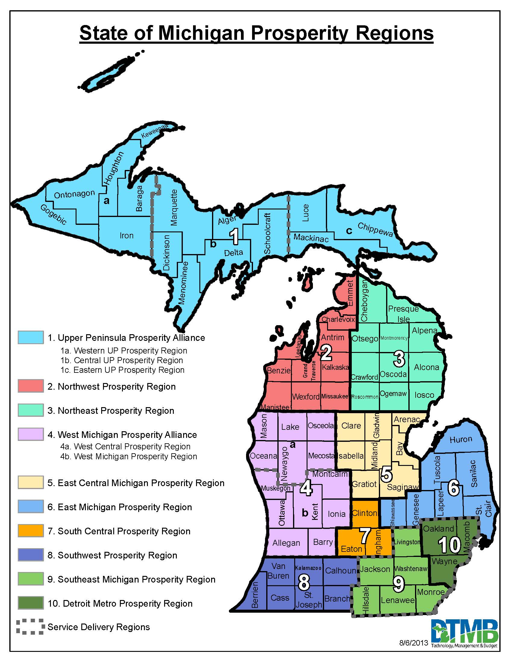 Map West Michigan Michigan Map - Map of southwest michigan